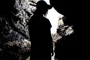 cave silhouette