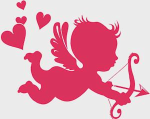 Why would Cupid be chosen to represent Valentines Day?