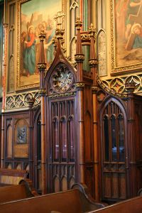Picture of a confessional