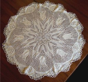 picture of a doily