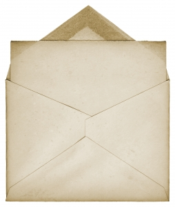 Picture of paper and envelope