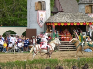picture of knight jousting