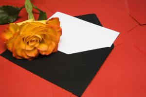 letter and_rose