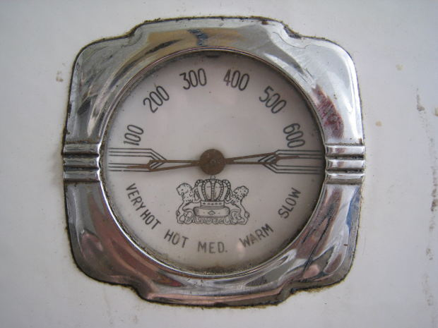 oven temperature guage