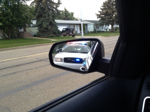 police pull over