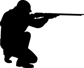 rifle silhouette