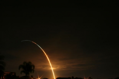 rocket lift off