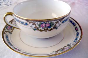 Tattoos versus china dinnerware