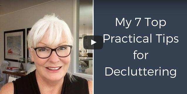7 practical tips for decluttering