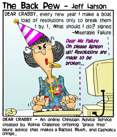Dear Crabby - Happy New Years | Backpew | Cartoons | Entertainment