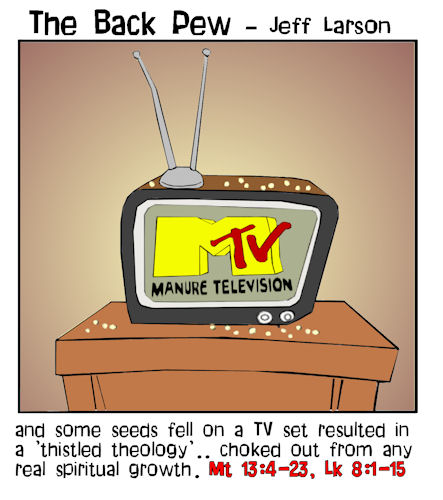 parable of the sower backpew cartoons entertainment