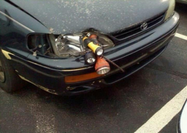 Headlight Repair Funny Car Pictures Entertainment
