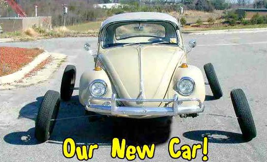 Funny Pictures of Volkswagen Bug 4X4