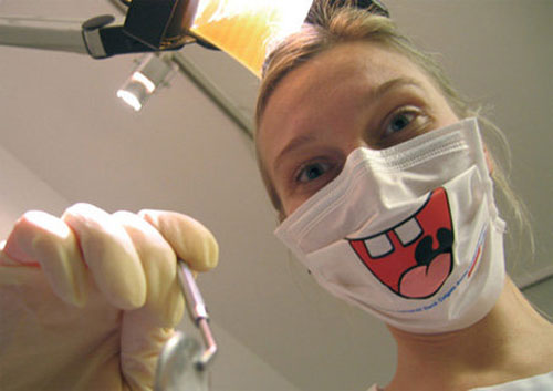 dental hygienist smile