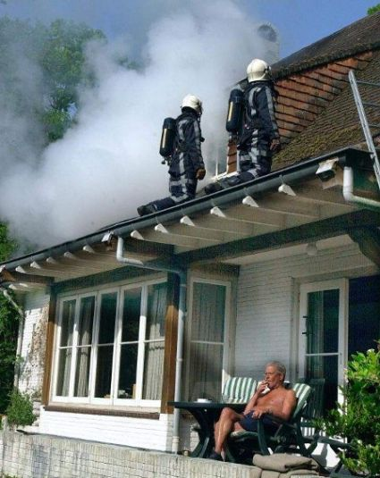 Funny Pictures of House On Fire Rent Reduction