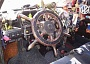 Funny Pictures of Ship Wheel in Car