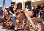 Funny Pictures of a Wooden Harley Davidson Motorcycle
