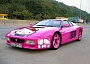 Funny Pictures of Pink Ruined Ferrari