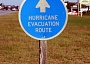 picture of hurricane evacuation sign route