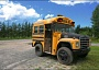 A Funny Picture of a Short School Bus
