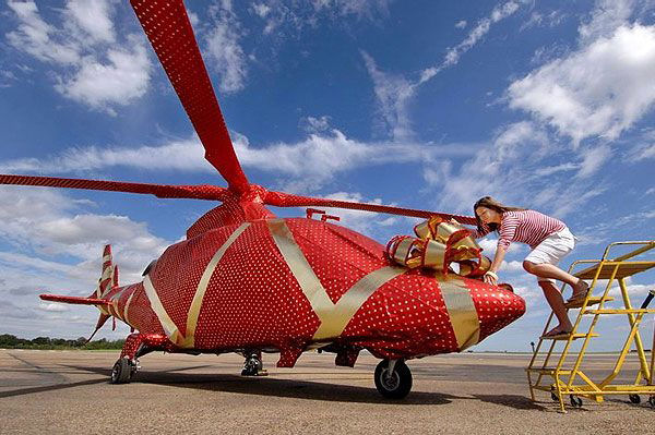 christmashelicopter