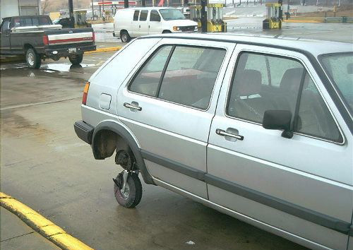 Spare Tire Funny Pictures