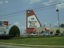 chicken kentucky fried store