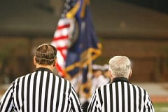 picture of a football referee