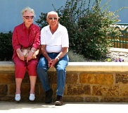 picture of elderly couple