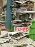 a picture of newspapers