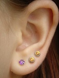 picture of pierced ears