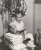 Funny Pictures of Child Getting a Perm