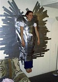Funny Pictures of Duct Taped Babysitter
