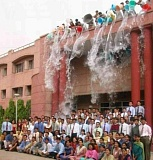 Funny Pictures of Graduation Water Play