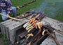 Funny Pictures of Barbecue With A Pitchfork
