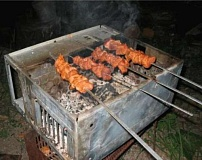 Funny Pictures of Computer Case BBQ
