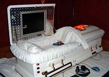 Funny Pictures of Computerized Casket