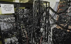 Funny Pictures of Computer Network Wires