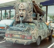 Funny Pictures of Really Weird, Spooky Car