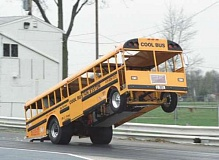 Funny Pictures of School Bus Dragster
