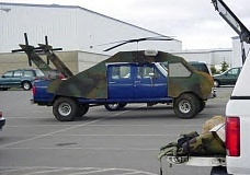 Funny Pictures of Helicopter Pickup Truck