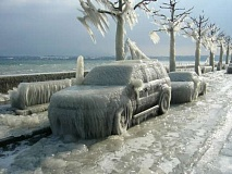Funny Pictures of Frozen Cars