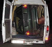 Funny Pictures of Volkswagen in Back of Panel Van