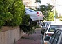 Funny Pictures of Car In Bush
