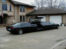 Funny Pictures of Corvette Stretch Limo