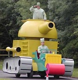 Funny Pictures of Big Toy Tank