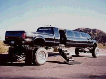 Funny Pictures of George Bush Texas Limo