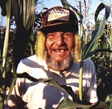 Funny Pictures of of Crazy Farmer at Harvest
