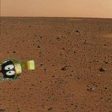 first photo from Mars Curiosity rover