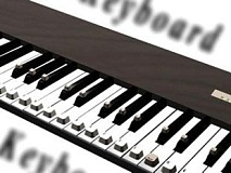 Funny Pictures of Electric Piano Keyboard